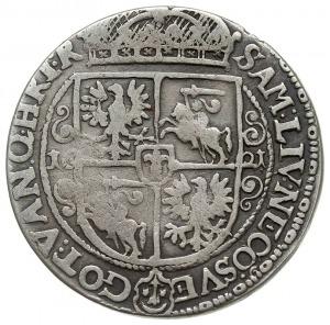 ort 1621, Bydgoszcz, odmiana z nominałem 16 pod popiers...