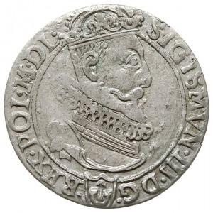 szóstak 1623, Kraków, data 1 - 6 / 2 - 3 rozdzielona ta...