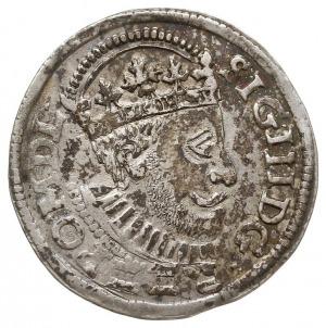 trojak 1588, Poznań, skrócona data 88 z prawej strony r...