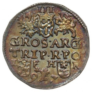 trojak 1597, Poznań, Iger P.97.6.a(R) - podobny, ale no...