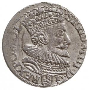 trojak 1594, Malbork, pierścień pomiędzy końcówką skróc...