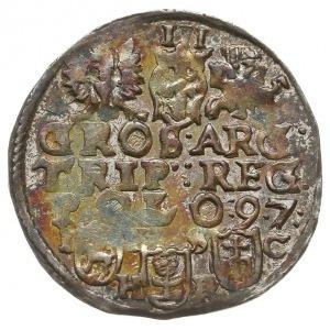 trojak 1597, Bydgoszcz, ciekawa interpunkcja - POL-O:9....