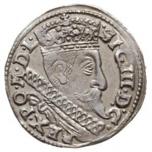 trojak 1598, Bydgoszcz, na rewersie dwie kropki przy cy...
