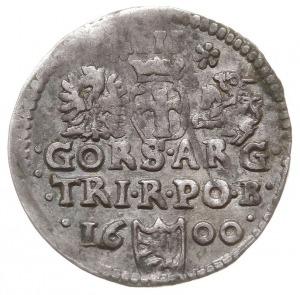 trojak 1600, Bydgoszcz, na rewersie błąd w napisie - GO...