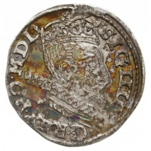 trojak 1601, Wschowa, litera F przy Pogoni, Iger W.01.2...