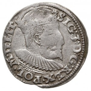 trojak 1595, Lublin, odmiana ze skróconą datą z lewej s...