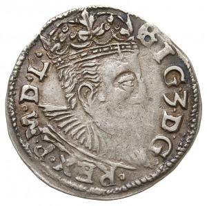 trojak 1597, Lublin, odmiana ze skróconą datą 97 z praw...