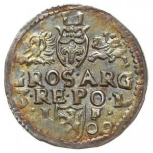 trojak 1600, Lublin, popiersie z kryzą, Iger L.00.2.a, ...