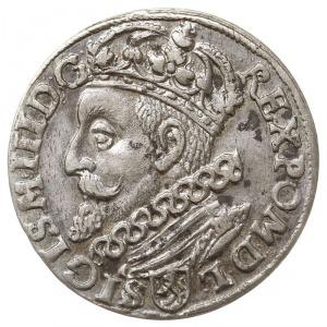 trojak 1601, Kraków, popiersie króla w lewo, Iger K.01....