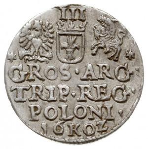 trojak 1602, Kraków, odmiana z cyfrą 2 jako Z, Iger K.0...