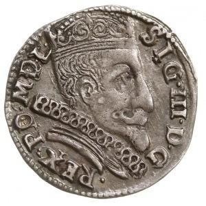 trojak 1598, Wilno, odmiana z większą głową króla, data...