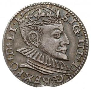 trojak 1590, Ryga, odmiana z dużą głową króla, Iger R.9...