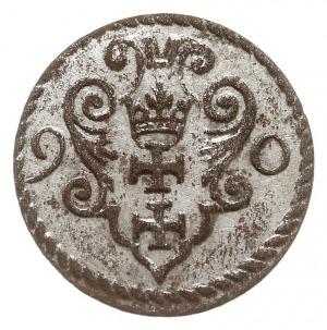 denar 1590, Gdańsk, CNG 145.I, piękny