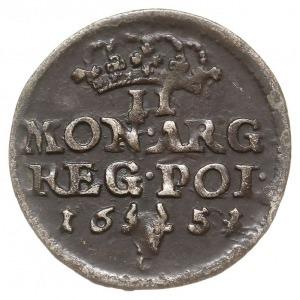 dwugrosz 1651, Bydgoszcz, inicjały C-G (Krzysztof Guttm...