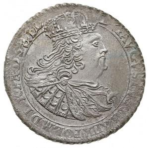 ort 1760, Gdańsk, odmiana z nominałem w wieńcu, Kahnt 7...