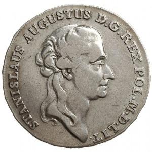 półtalar 1788 EB, Warszawa, duże i grube gałązki wieńca...