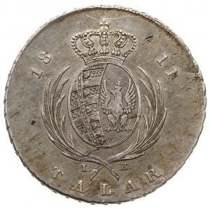 talar 1811, Warszawa, srebro 22.71 g, Plage 114, Dav. 2...