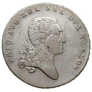 talar 1814, Warszawa, srebro 22.69 g, Plage 116, Dav. 2...