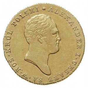 25 złotych 1819, Warszawa, złoto 4.90 g, Plage 14, Bitk...