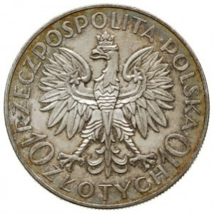 10 złotych 1933, Warszawa, 250. rocznica Odsieczy Wiede...