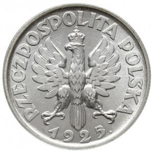 2 złote 1925, Londyn, Kobieta z kłosami, kropka po daci...