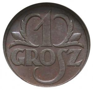 1 grosz 1931, Warszawa, Parchimowicz 101.e, moneta w pu...