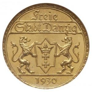 25 guldenów 1930, Berlin, Posąg Neptuna, złoto, Parchim...