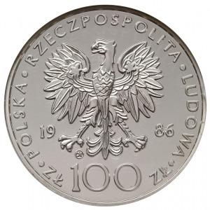 100 złotych 1986, Szwajcaria, Jan Paweł II, srebro, Par...