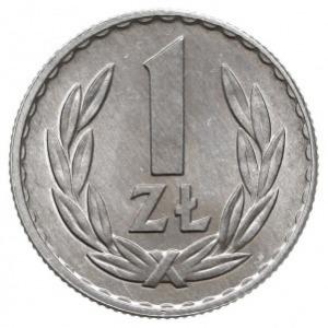 1 złoty 1966, Warszawa, Parchimowicz 213.c, aluminium, ...