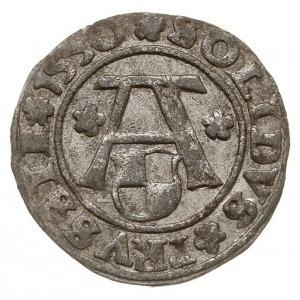 szeląg 1550, Królewiec, Bahrf. 1208, Voss. 1402, Neuman...
