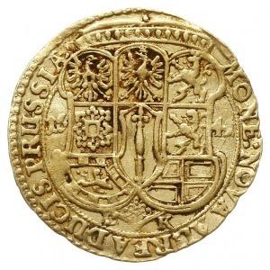 dukat 1641 DK, Królewiec, Aw: Popiersie w prawo i napis...