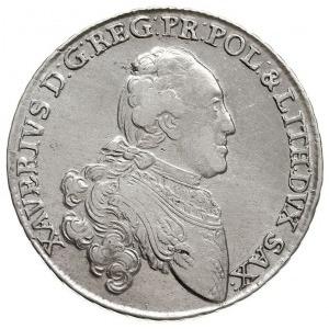 2/3 talara (gulden) 1766 EDC, Drezno, Merseburger, Mers...