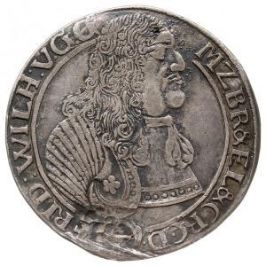 1/3 talara 1667, Krosno, v. Schr. 530, usunięty napis 1...