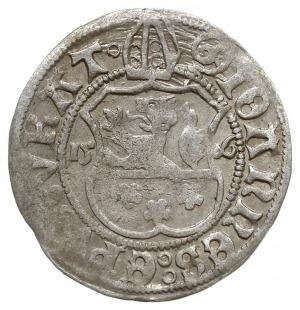 grosz 1506, Nysa, odmiana z łukowatą tarczą herbową i p...