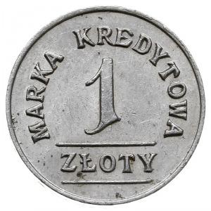 1 złoty Spółdzielni 8 Pułku Ułanów Księcia Józefa Ponia...