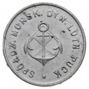 1 złoty, Spółdzielni Morskiego Dywizjonu Lotniczego, em...