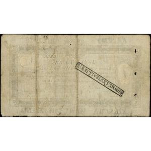 1 talar 1.12.1810, podpis komisarza T. Ostrowski, numer...