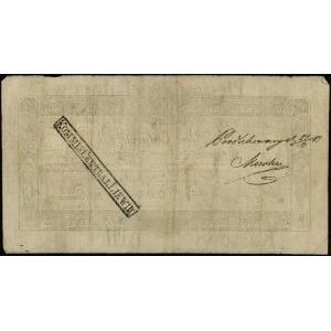 5 talarów 1.12.1810, podpis komisarza Badeni, numeracja...