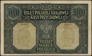 500 marek polskich 15.01.1919 numeracja 280867, Lucow 3...