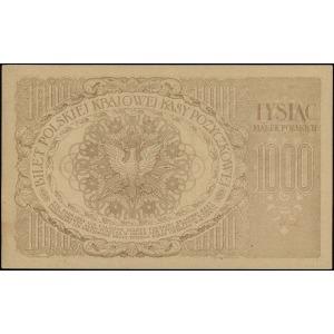 "1.000 marek polskich 17.05.1919, znak wodny ""plaster mi..."
