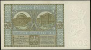 20 złotych 1.09.1929, seria DN, numeracja 0982011, Luco...