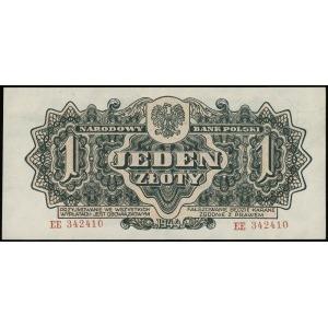 1 złoty 1944, w klauzuli OBOWIĄZKOWYM, seria ЕЕ, numera...