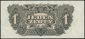 1 złoty 1944, w klauzuli OBOWIĄZKOWYM, seria ЕО, numera...