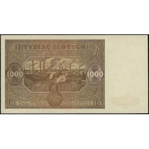1.000 złotych 15.01.1946, seria P, numeracja 8521757, L...