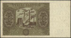 1.000 złotych 15.07.1947, seria G, numeracja 5719351, L...