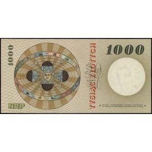 1.000 złotych 29.10.1965, seria A, numeracja 1815803, L...