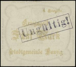 Kriegs-Geld, 5 marek 12.10.1918, numeracja 289247, bez ...