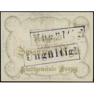 Kriegs-Geld, 20 marek 12.10.1918, bez znaku wodnego, dr...