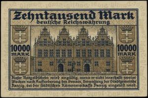 Der Senat der Stadtgemeinde Danzig, 10.000 marek 20.03....