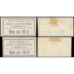 Restauracja Filipa Schweitzera, zestaw bonów: 20 i 50 h...